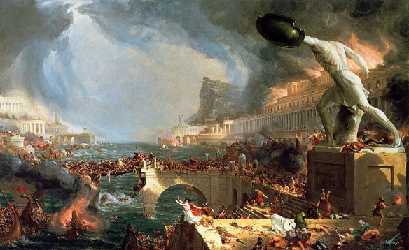 Thomas Cole - Destruction - 1836