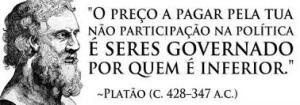 PLATAO- ALIENACAO DA POLITICA