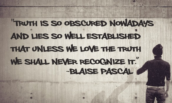 Pascal - truth quotes