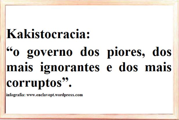 kakistocracia -enclavept